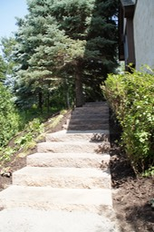 Backyard Access Steps