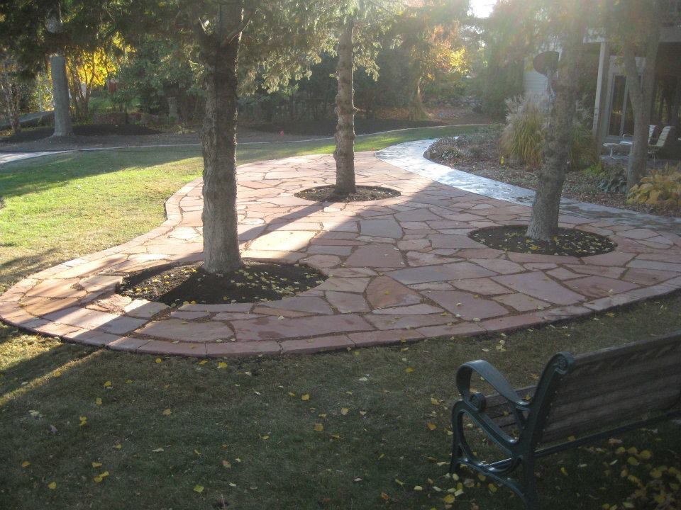 Backyard Patio Expansion