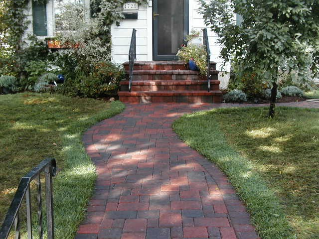 Cobble Front Pathway
