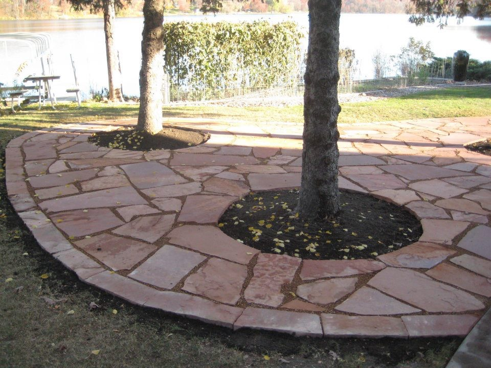 Charming Ground Cover Done With Natural Stone