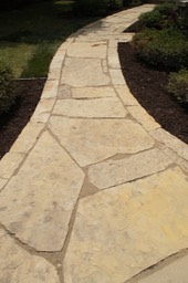 Natural Stone Path Detail
